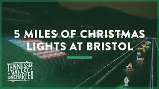 Download 5 Miles of Christmas Lights at Bristol Motor Speedway (Bristol, TN) - Tennessee Valley Uncharted Video