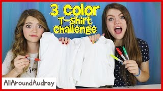 Download 3 Marker T-Shirt Challenge! / AllAroundAudrey Video