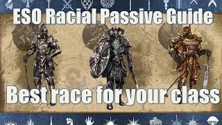 Download Racial passives how to choose the right character in Elder Scrolls Online Video