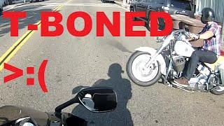 Download Cruiser hits Sport bike (Full Video) Video