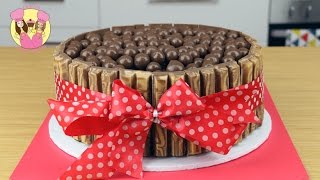 Download KIT-KAT MALTESER CHOCOLATE ICE CREAM CAKE! Birthday cake kids baking by Charli's Crafty Kitchen Video