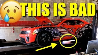 Download 1000hp Nitrous Camaro ZL1 BLOWS UP ON THE DYNO!!! Video