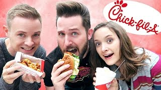 Download SIBLINGS TASTE CHICK-FIL-A'S MOST POPULAR ITEMS Video
