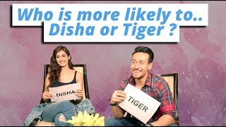 Download Tiger Shroff And Disha Patani Play 'Who Is More Likely To' Video