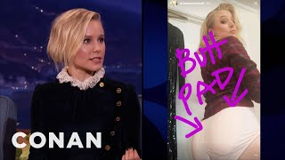 Download Kristen Bell Likes Big Juicy Buns - CONAN on TBS Video