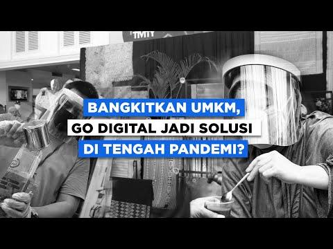 Bangkitkan UMKM, Go Digital Jadi Solusi di Tengah Pandemi   Katadata Indonesia