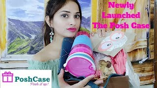 Download Newly Launch Posh Case Subscription Box October 2017 Unboxing and Review    Exclusive Launch Offers Video