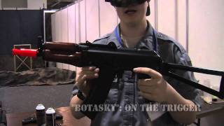 Download SRC Gas AK-74U in Action at the North Atlantic Airsoft Expo 2011 Video