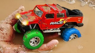 Download Fine Toys Construction Vehicles Looking for underground car | Toys for kids Video