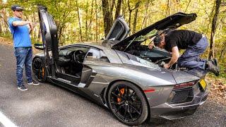 Download STUPID LAMBORGHINI BREAKS $30 PART AND IT WON'T DRIVE! *RANDY SAVAGE* Video