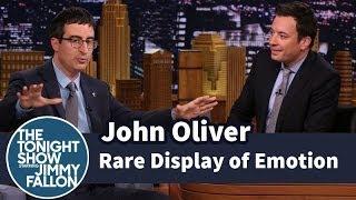 Download John Oliver Showed a Rare Display of Emotion Video