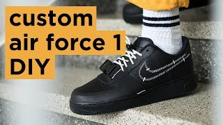 Download DIY Nike Air Force 1 | How To Customize Your Nikes | Dapper Alien Video
