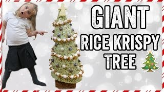 Download GIANT RICE KRISPY (KRISPMAS) TREE Video