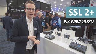 Download Solid State Logic SSL 2 - NAMM 2020 (USB Audio Interface) Video