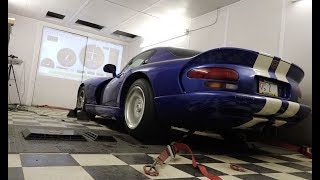 Download I Took My Dodge Viper to the Dyno to Measure Its Horsepower Video