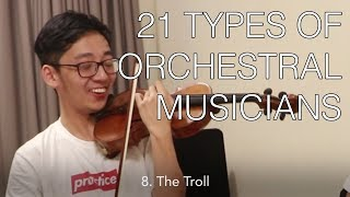 Download 21 Types of Orchestral Players Video