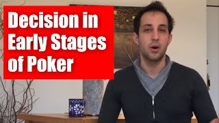 Download Tournament Poker Strategy: Decision Making in Early Stages of Turbo Poker Tournaments - █-█otD 51 Video
