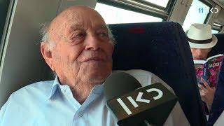 Download התחלנו: נסיעת הבכורה של קו הרכבת המהיר מירושלים Video