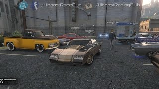 Download Grand Theft Auto V Online (XB1) | Muscle Car Meet | All Motor Dukes, Drag Racing, Ride Along & More Video