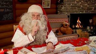 Download Botschaft vom Weihnachtsmann in Lappland für Kinder - Finnland Nikolaus Rovaniemi Video