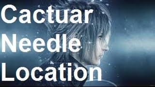 Download Final Fantasy 15 - Cactuar Needle - Auto Crossbow Upgrade Video