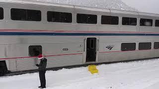 Download Amtrak California Zephyr Adventure - Emeryville CA to Denver CO 23-24 Dec 2018 Video