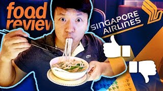 Download Singapore Airlines BUSINESS CLASS Food Review! San Francisco to Singapore 17 HOUR Flight Video