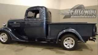 Download Classic 1936 Chevrolet 1/2 ton Pick Up (street rod) for sale (Louisville) Gateway Classic Cars Video