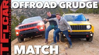 Download Jeep Compass vs Renegade Off-Road Mashup Review and Drag Race Video