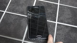 Download Samsung Galaxy A5 2016 Bathroom Floor - Drop Test! Video
