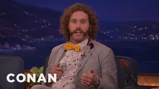 Download T.J. Miller Can't Stop Bleeding - CONAN on TBS Video
