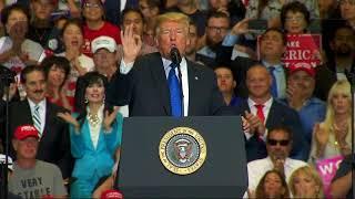 Download Trump touts administration's economic record Video