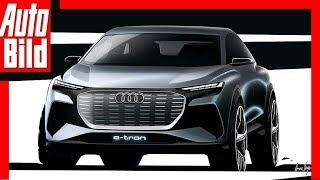 Download Zukunftsaussicht: Audi Q4 e-tron (2020) Details / Erklärung Video