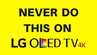Download Never do this on lg oled tv Video