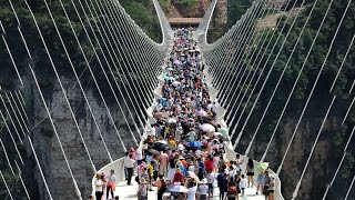 Download 10 Interesting Facts About The Zhangjiajie Grand Canyon Glass Bridge    Pastimers Video
