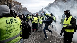 Download LIVE: Yellow Vests march under 'Macron resign' motto, huge numbers of police deployed Video