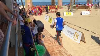 Download Marco Garavini/Luca Cramarossa x Leonardo Gomes/Lucas Lima - Copacabana Open de Beach Tennis 2018 Video