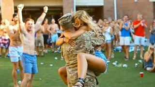 Download Soldiers Coming Home To Girlfriends Compilation Video Video