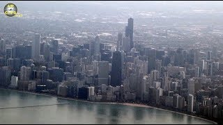 Download FANTASTIC Chicago views during Aer Lingus Airbus A330-300 Landing!!! [AirClips] Video