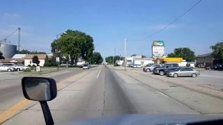 Download BigRigTravels LIVE! Grand Island to Central City, Nebraska US Highway 30 Video