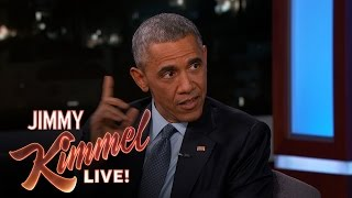 Download Jimmy Kimmel Asks President Barack Obama About His Daily Life Video