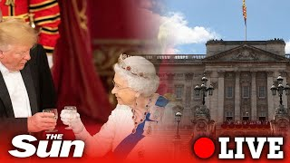 Download NATO leaders attend a reception at Buckingham Palace | LIVE Video