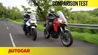 Download Ducati Multistrada 950 vs Triumph Tiger XRx | Comparison Test | Autocar India Video