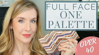 Download Full Face Using One Palette | Natural Everyday Makeup Tutorial | Over 40 Video