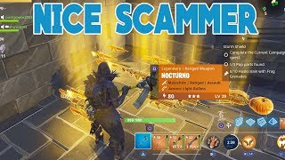 Download NICE Scammer Scammed Himself (Scammer Gets Scammed) Fortnite Save The World Video