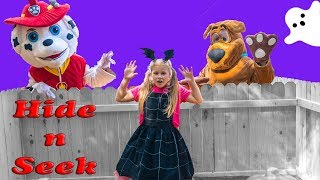 Download Assistant Spooky Hide n Seek with Paw Patrol Marshal and Scooby Doo Video