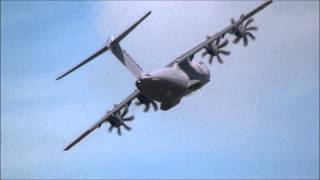 Download Airbus Military A400M Display at RIAT 2014 Video