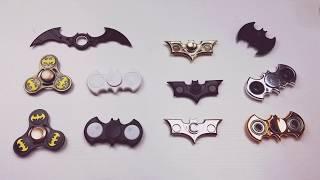 Download Batman Fidget Spinner Collection- Pick your Favorite! Video