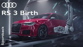 "Download The Audi RS 3 ""Birth"" Video"