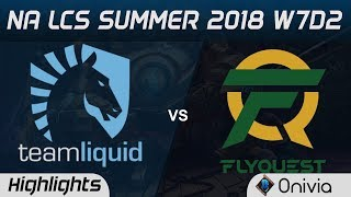 Download TL vs FLY Highlights NA LCS Summer 2018 W7D2 Team Liqud vs FlyQuest by Onivia Video